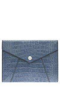 Oroton Raisa large envelope clutch