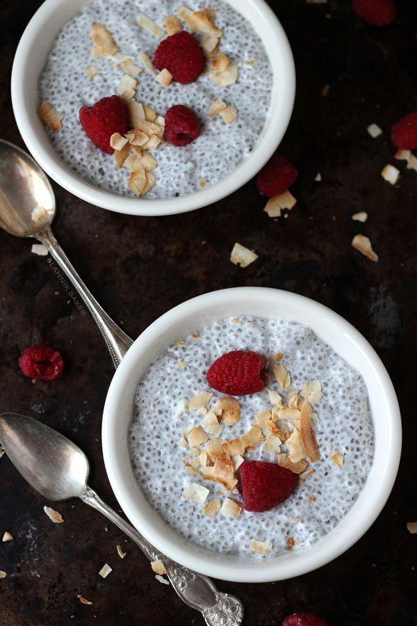 Coconut Vanilla Chia Pudding: Vanilla Chia, Chia Seeds, Chai Puddings, Coconut Chia Puddings, Healthy Breakfast, Creamy Coconut, Coconut Vanilla, Gluten Free, Puddings Recipes