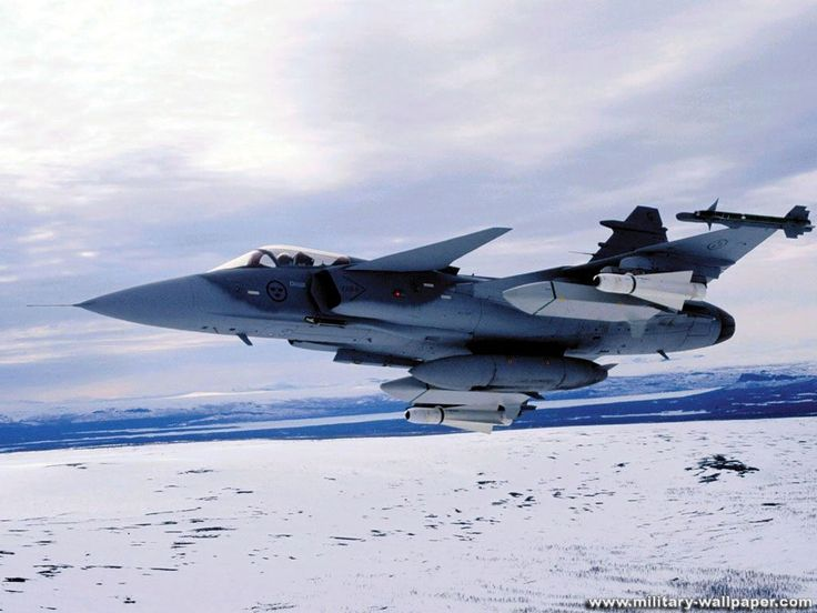 Swedish Air Force Saab JAS-39 Gripen Fighter