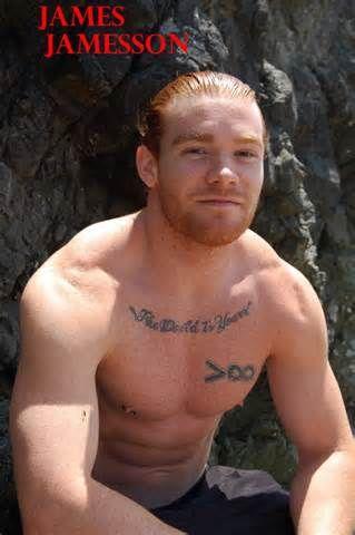 James Jamesson Red Hair Men Ginger Men Red Hair