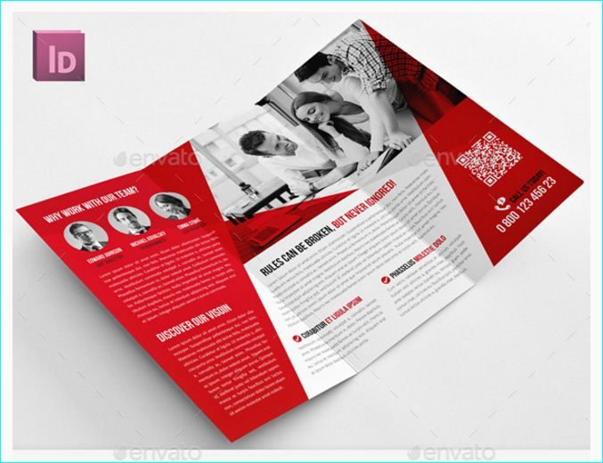 16 best 15 best indesign brochure templates for creative for Free brochure indesign template