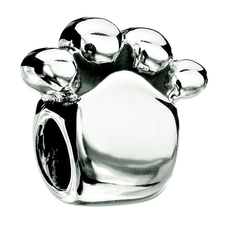 Paw print bead <3