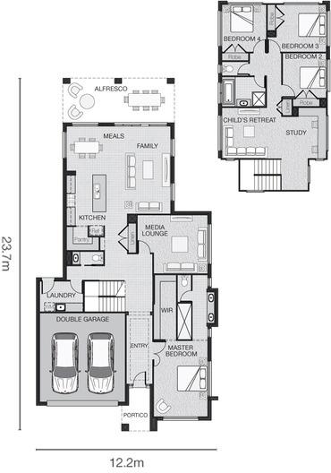 Kitchen/Living/upstairs retreat/study