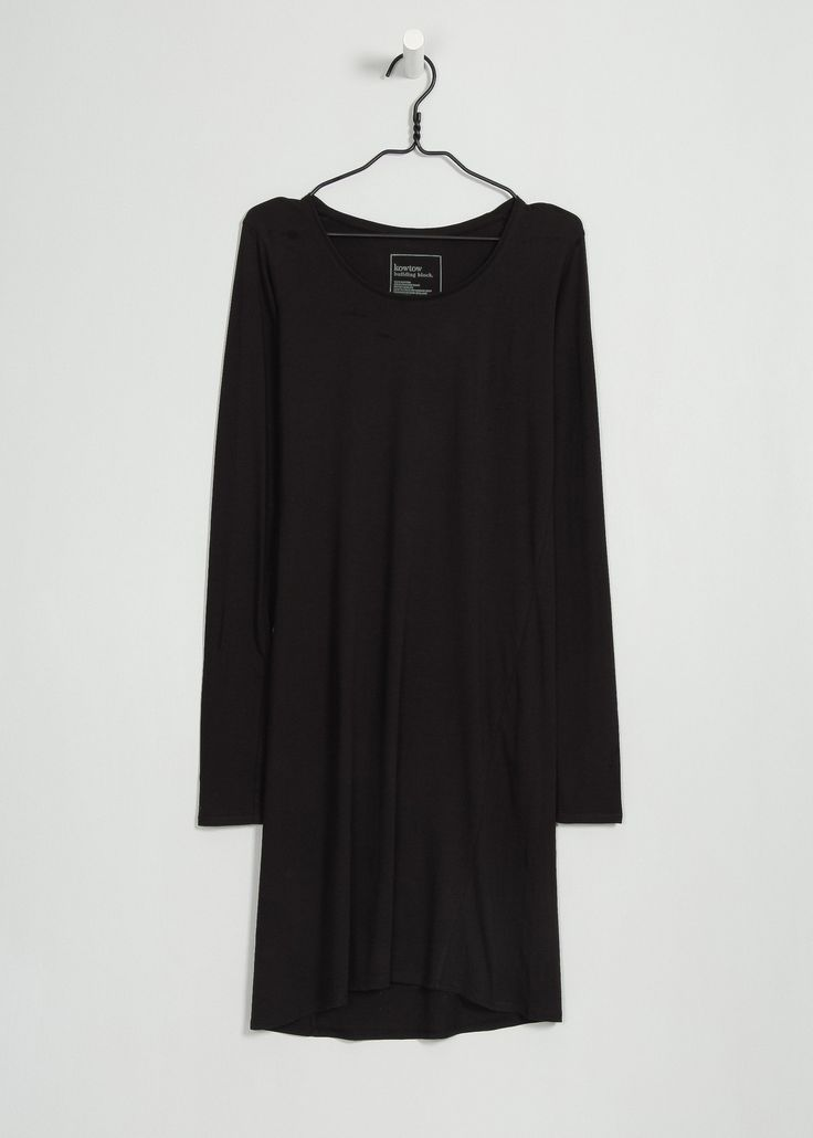 kowtow - 100% certified fair trade organic cotton clothing - Building Block Long Sleeve Dress