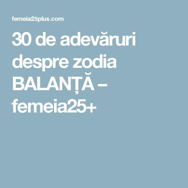 30 de adevăruri despre zodia BALANȚĂ – femeia25+