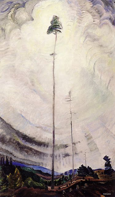 """Subtitle Literate: Emily Carr's """"Scorned as Timber, Beloved of the Sky"""""""