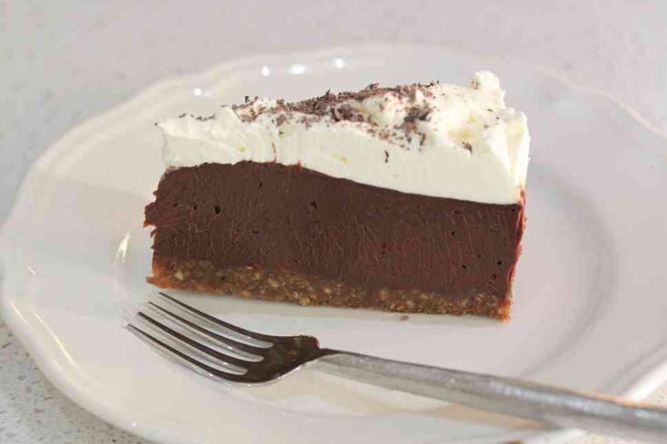 THE most decadent chocolate dessert ever. Thin slivers only.