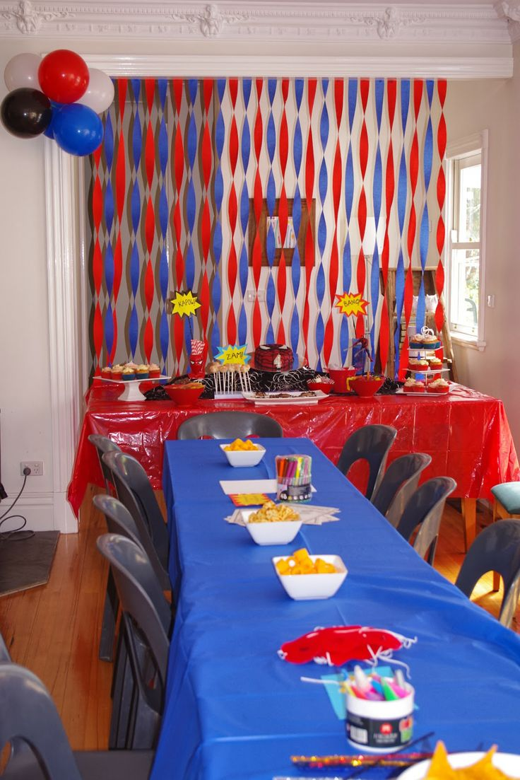 Spider man party ideas                                                                                                                                                                                 More