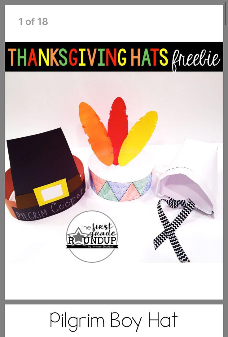 Thanksgiving pilgrim, Indian hat templates | Indian hat ...