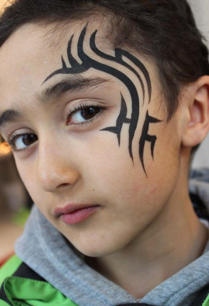 26 Best Images About Face Paint Tribal On Pinterest
