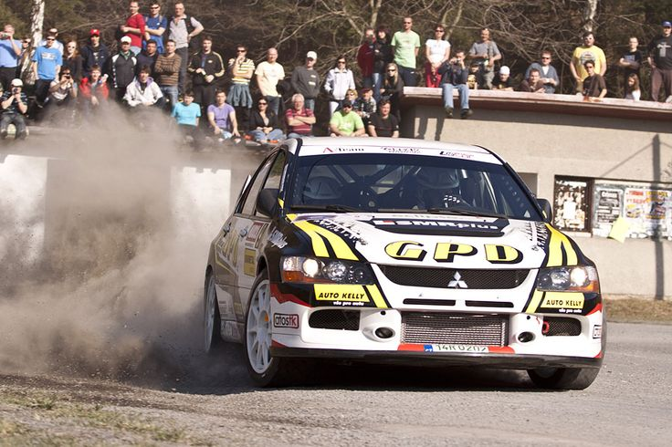 Orsák Rally Sport - J. Orsák (Mitsubishi Lancer Evo IX) - design for season 2012 - Valašská rally 2012.