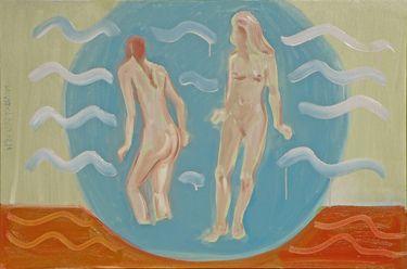 "Saatchi Online Artist Janusz Gałuszka; Painting, ""cold and deep water."" #art"