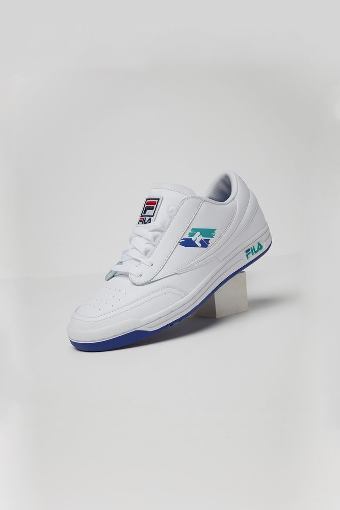 cb852b98d6fb FILA s Colors Pack features white-based leather silhouettes with pops of  bright hues inspired by the lively tones of 80 s and 90 s tennis …