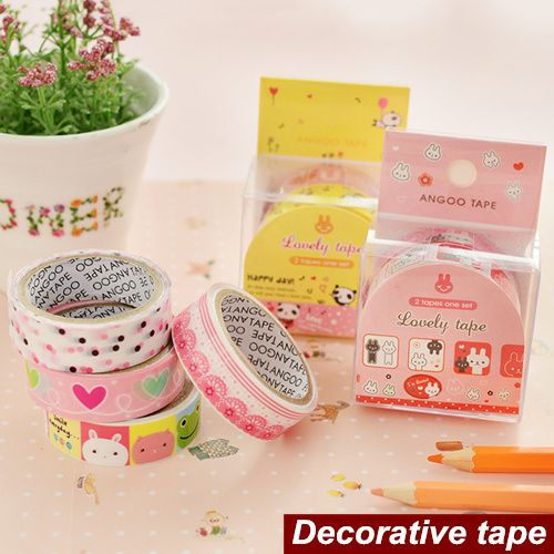 Boxed Lovely tape PVC Lace Masking tapes Decorative adhesive scrapbooking stickers articulos de papeleria School supplies 6540 #Affiliate