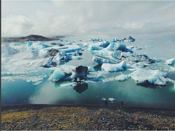 исландия jokulsarlon