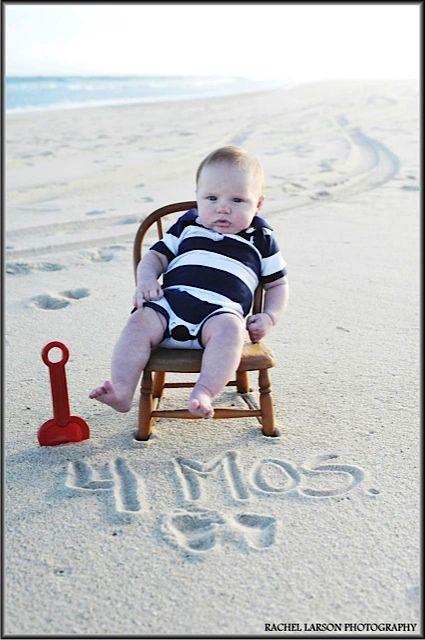 Children's Portraits / Baby / Beach / Nantucket / Creative Photography / Rachel Larson Photography