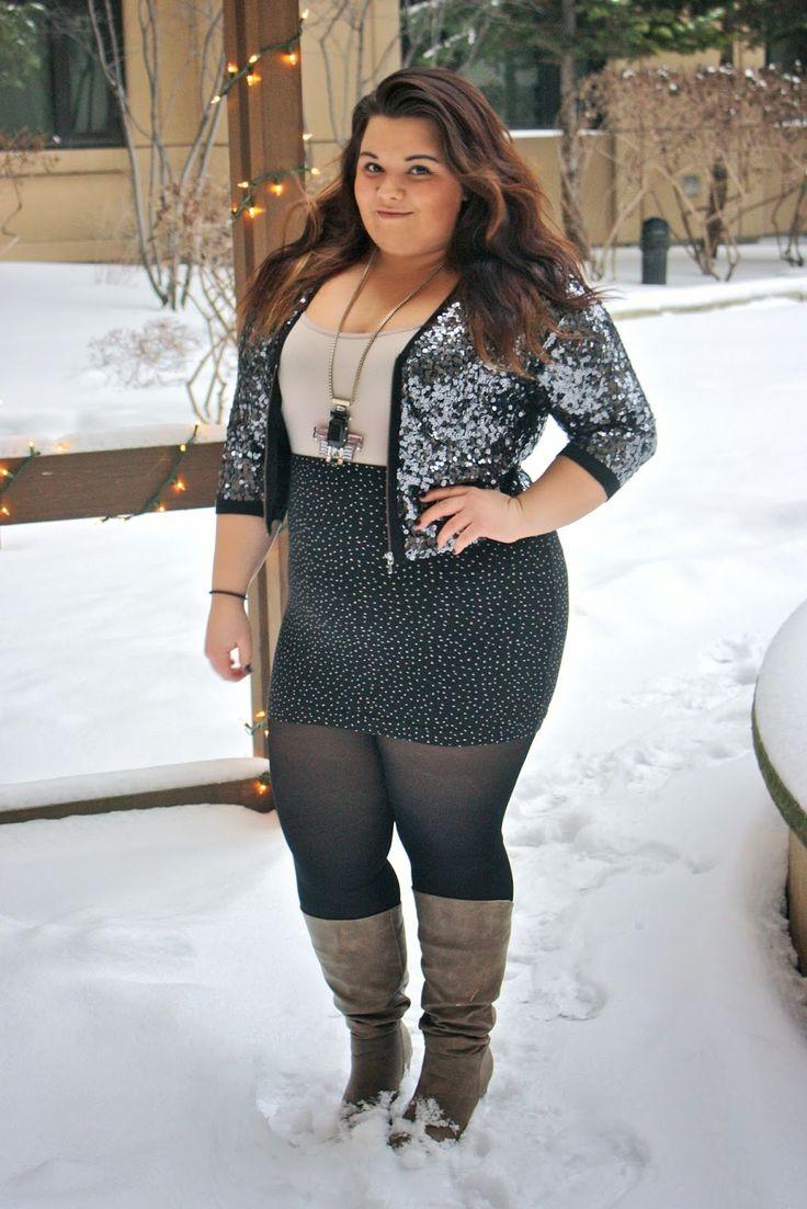 Www Natalieinthecity Com Plus Size Fashion Ootd Sequins