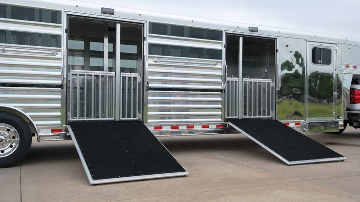 Show Cattle Trailers | Elite Trailers