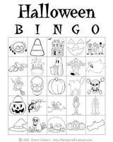 Halloween Party Games for Kids I will actually print this and let the kids color it, cut it out and make decorations out of the little pictures.
