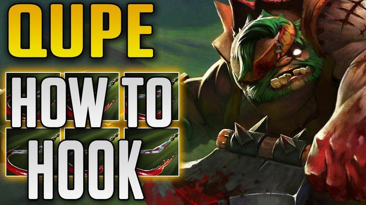 QUPE Pudge or How to Hook | Dota 2 7.06 Highlights