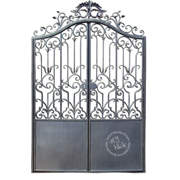 iron king bed hand forged wrought iron entrance gates headboard
