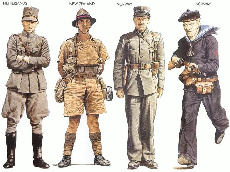 World War II Uniforms - Netherlands - 1940 May, Holland ...