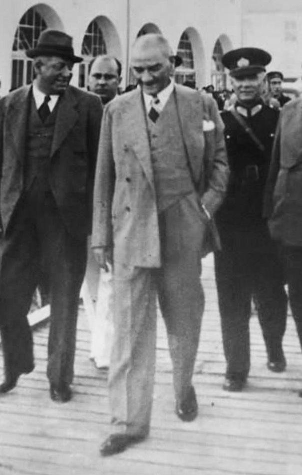 Ataturk mersin. 1938