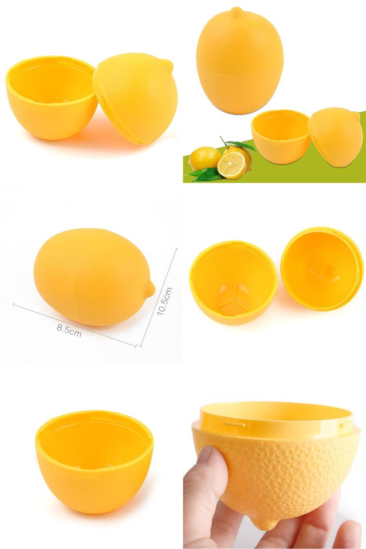 [Visit to Buy] Fresh Storage Box Lemon Lime Saver Plastic See Through Container Holder 2843 Bulb Shaped Moist Assorted For Kitchen Refrigerator #Advertisement