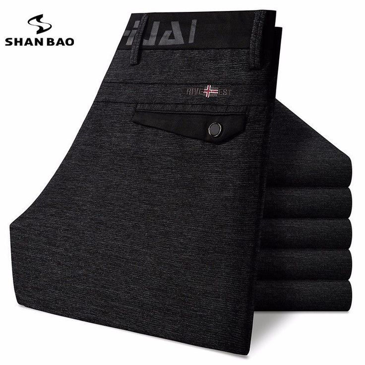 High quality luxury men's casual pants