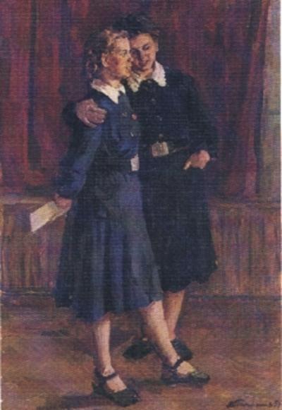 Панфилов В. Ремесленницы.1957