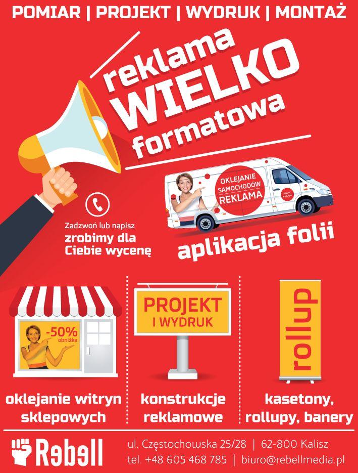 Reklama do gazety usług reklamowych | www.pinkelephant.pl