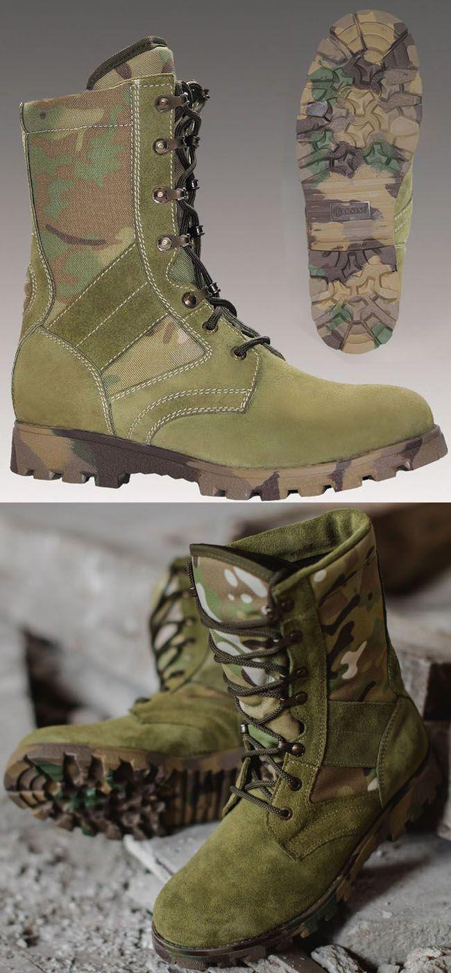 TACTICS LUX MULTICAM camo boots by GARSING