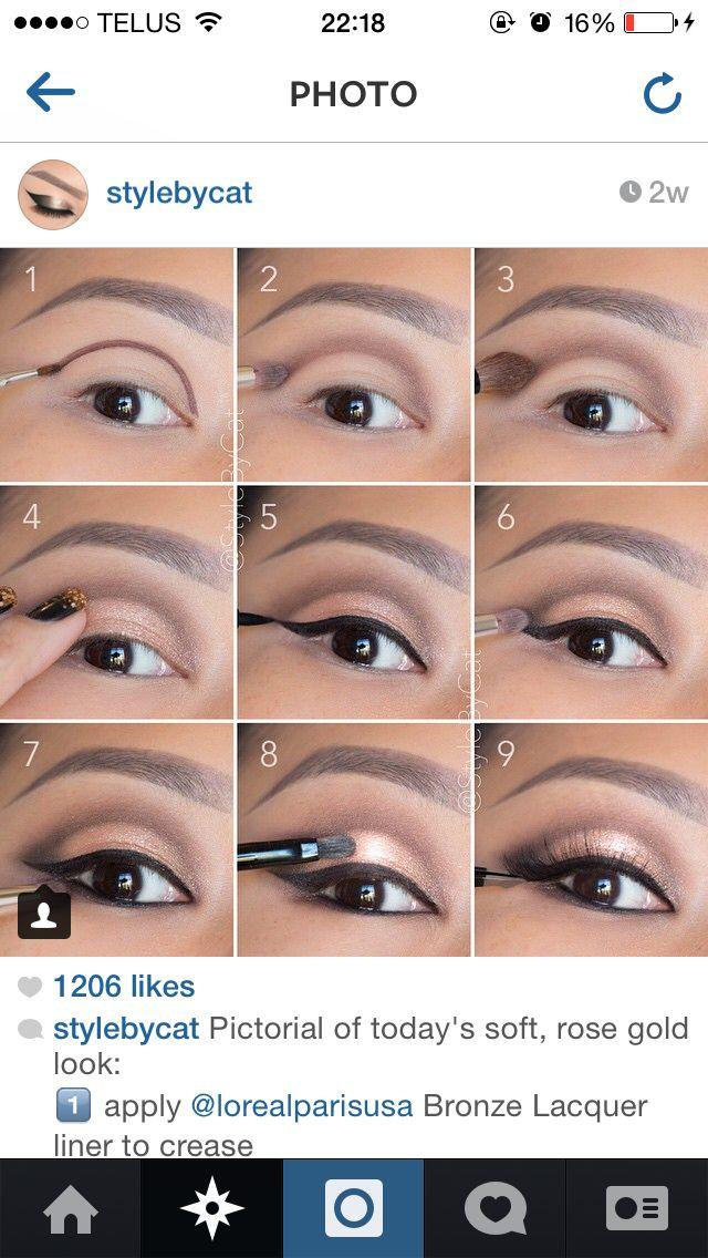 Maquillage oeil                                                                                                                                                                                 Plus
