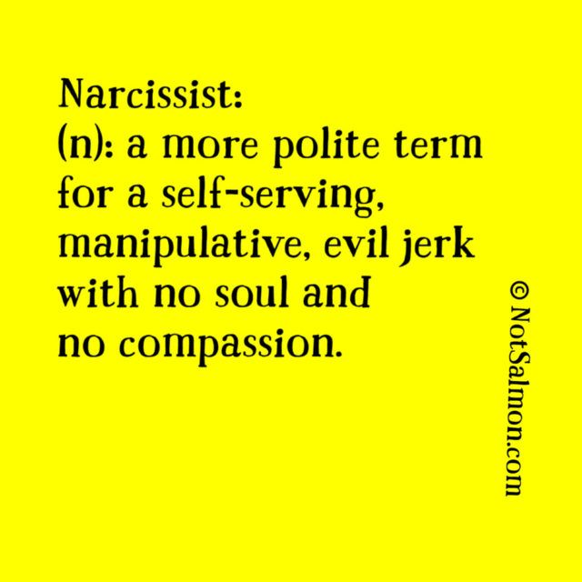 quote narcissist