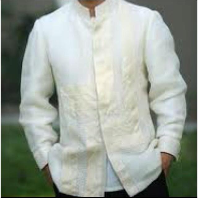 9 best barong tagalog images on pinterest barong tagalog for Barong tagalog wedding dress