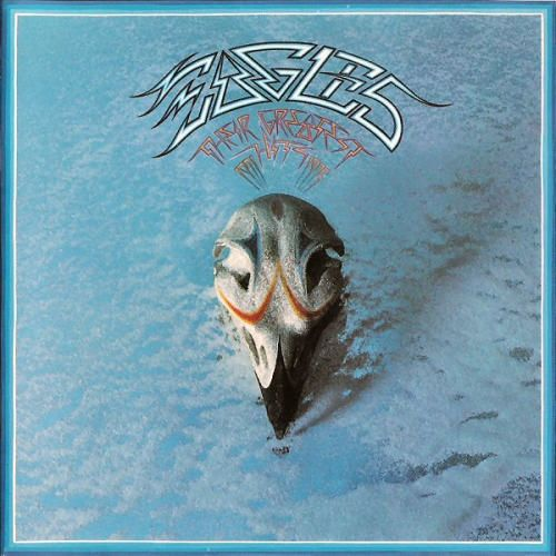 The first album I ever purchased ( around 1976 or 1977??) ... and only because I liked the cover. I then, after listening, became an Eagles fan. They are the greatest band ever IMO.