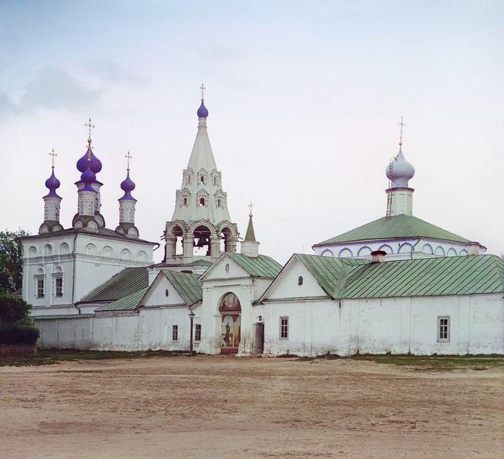 С. М. Прокудин-Горский. Вход в Спасский монастырь. [Рязань.] 1912 год