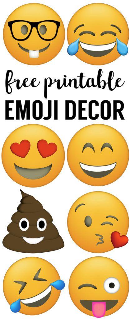 Emoji Faces Printable Free Emoji Printables Free
