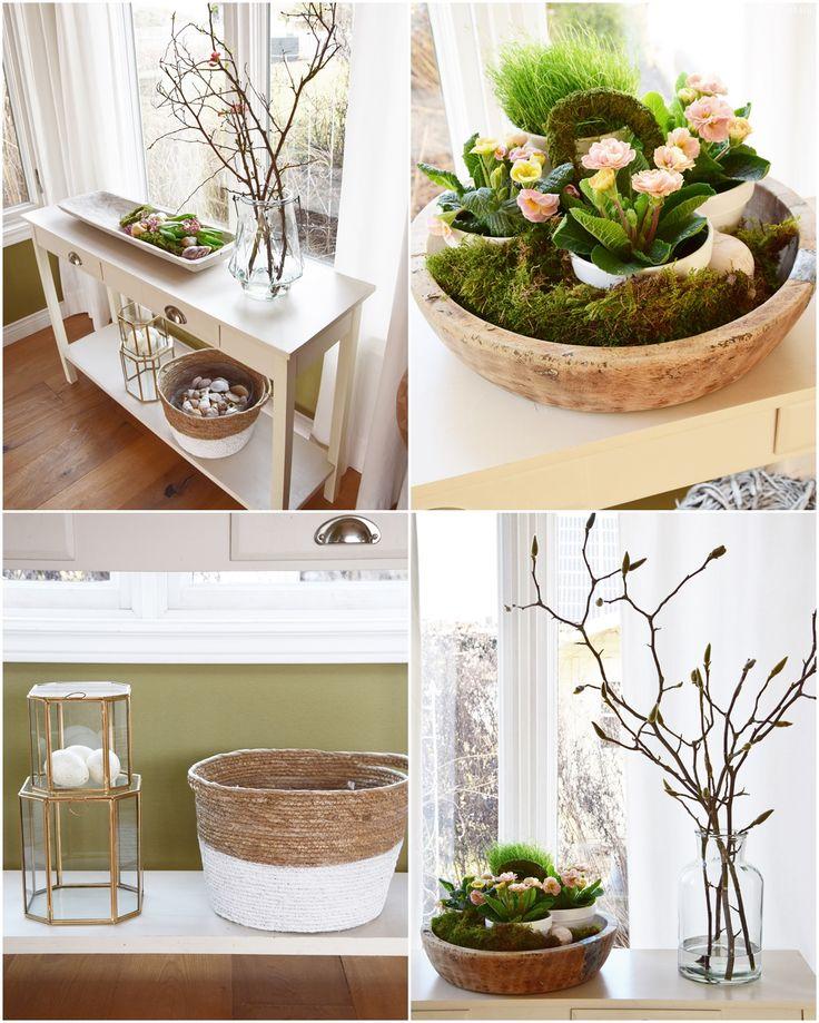 Dekoideen Frühling Für Sideboard Und Konsole Wohnzimmer