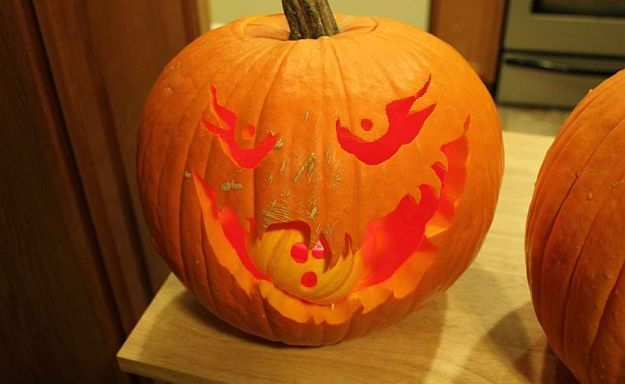 Hungry Pumpkin | How To Carve The Perfect Jack-O-Lantern [Infographic]