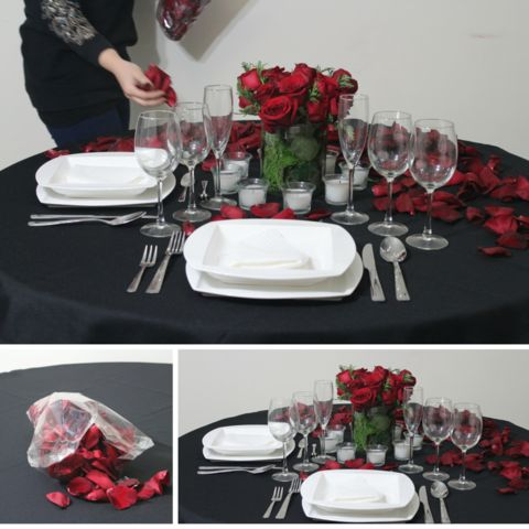 43 best estilos para colocar la mesa images on pinterest - Como preparar una cena romantica ...