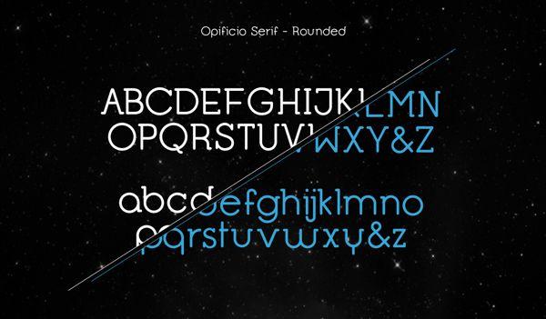OPIFICIO SERIF by monocromo - creative factory , via Behance