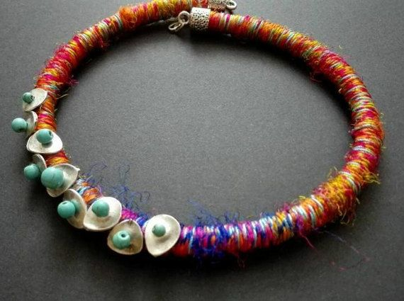 Hey, I found this really awesome Etsy listing at https://www.etsy.com/listing/496667192/african-ethnic-necklace-silk-necklace