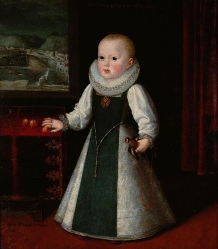 Infanta Anna, 1602, by Juan Pantoja de la Cruz
