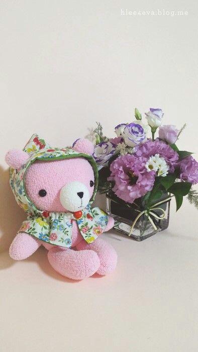 #취미 #만들기 #socksdoll #sock #doll #dollmaking #인형 #인형만들기 #양말인형 #양말공예 #양말 #동물인형 #diy #handmade #핸드메이드 #수제인형 #곰 #곰인형 #pink #bear