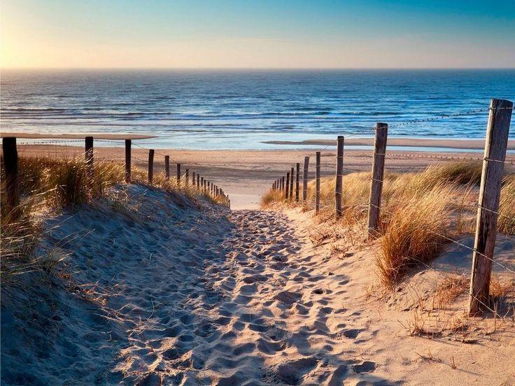 Home Affaire Leinwandbild »Sandstrand«, Meer, Strand, 80