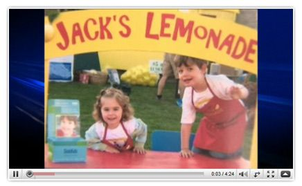 Visit Jack's Lemonade Stand on Saturday, May 26 in Oakville, Canada. Such an amazing cause started up by such an amazing boy. Let's help Jack with his mission to help children at SickKids!