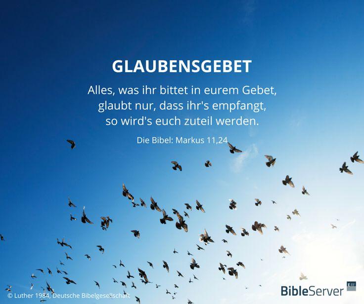 Glaubensgebet | Lies den Bibelvers im Kontext auf #BibleServer nach | Markus 11,24                                                                                                                                                                                 Mehr