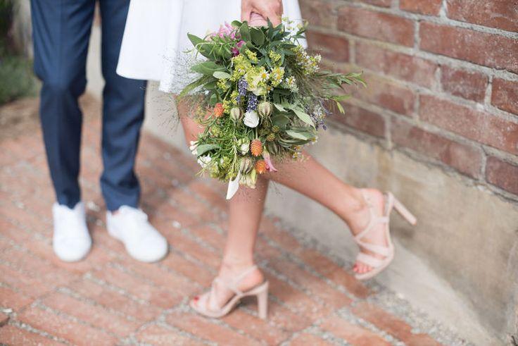 traumhaft schöner, natürlicher Brautstrauß