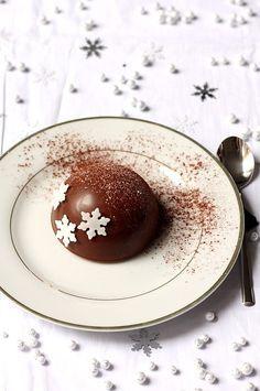 #22 Dôme chocolat et poire